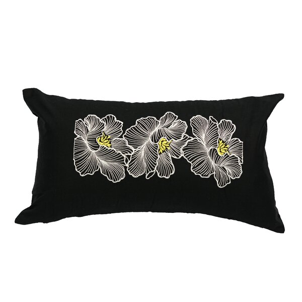 Posy 100% Cotton Pillow Cover by LJ Home